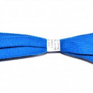 Sireturi 110 cm late - albastru