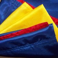 Steag tricolor Romania 70 cm / 110 cm - crep satin