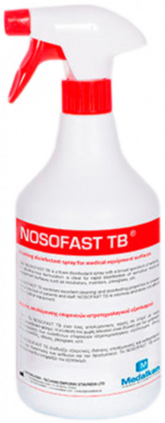 NOSOFAST TB - dezinfectant spuma pentru suprafete 5 l - 1 + 2 X SPRAY 1L CADOU