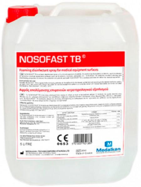 NOSOFAST TB - dezinfectant spuma pentru suprafete 5 l