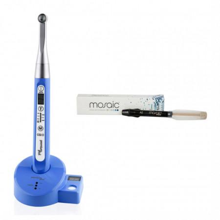 Pachet Lampa de fotopolimerizare C02 - D + Mosaic Syringe Refill A1 Cadou