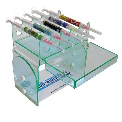 Endo Station Mini Blue - suport organizare 15 seringi