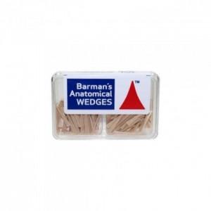 Pene lemn - Bartman's Anatomical Wedges - Small - 200 bucati