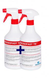NOSOFAST TB - dezinfectant spuma pentru suprafete 1l - 1 +1 CADOU