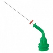 Aplicatoare Navi Tips 30ga 27 mm - verde