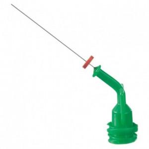 Aplicatoare Navi Tips 30ga 27 mm - verde
