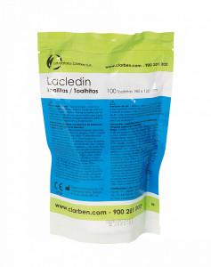 Rezerva servetele dezinfectante pentru suprafete LACLEDIN - 100 bucati