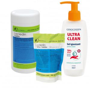 Pachet complet pentru igienizare si protectie cotidiana