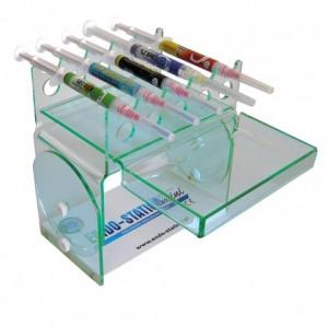 Endo Station Mini Blue - suport organizare 15 seringi