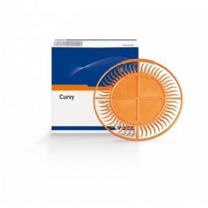 Curvy Set 6 x 52 bucati - pene interdentare sintetice