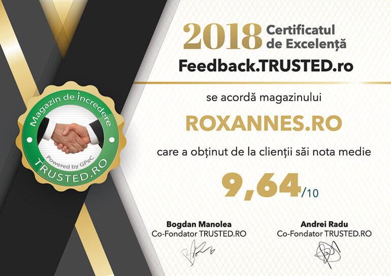 Povestea Roxanne's | Despre Noi | Feedback Trusted.ro