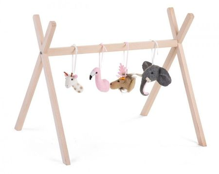 Slika GYM FELT, baby gym set sa 4 životinje
