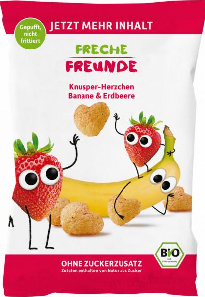 Slika Freche Freunde organski flips od kukuruza sa dodatkom banane i jagode 30 g