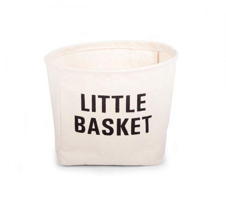 Slika SMALL BOX - LITTLE BASKET, mali platneni džak za igračke