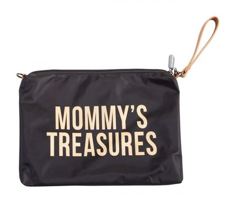 MOMMY'S TREASURES CLUTCH - BLACK GOLD