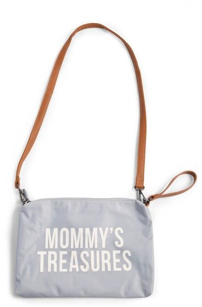 Slika MOMMY'S TREASURES CLUTCH - GREY OFF WHITE