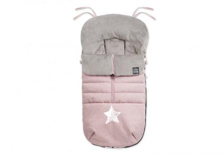 Slika NEST prekrivač za zimu, boho pink