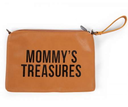 MOMMY'S TREASURES CLUTCH - LEATHERLOOK