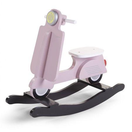 Slika Njihalica Scooter, pink/black