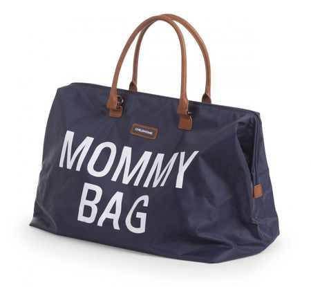 Slika MOMMY BAG, NAVY WHITE