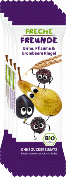 Freche Freunde organski musli bar od kruške, šljive i kupine 4x23 g