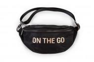 BANANA BAG ON THE GO HIP BAG, crna