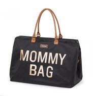 MOMMY BAG, BLACK GOLD
