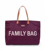 FAMILY BAG, AUBERGINE