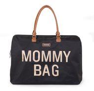 MOMMY BAG, BLACK GOLD