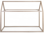 TIPI RAM za krevet u obliku kućice, 200x90 natur