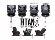 TITAN auto- sedište, Grupa 0, I, II i III