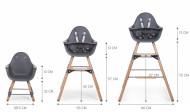 Set dugačkih nogare za EVOLU stolicu, anthracite