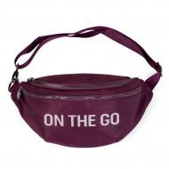 BANANA BAG ON THE GO HIP BAG, AUBERGINE