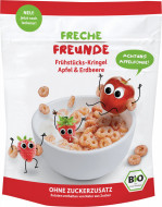 Freche Freunde organski kružići od žitarica sa dodatkom sokova od jabuke i jagode 125 g