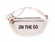 BANANA BAG ON THE GO HIP BAG, Teddy Off White