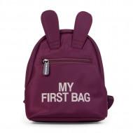 MY FIRST BAG, AUBERGINE