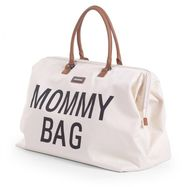 MOMMY BAG, OFF WHITE BLACK