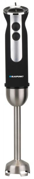 Blander de mana Blaupunkt HBD501BK, 1000 W, 2 viteze, accesorii: cana gradata,tocator, Negru/Argintiu