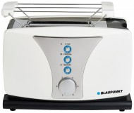 Prajitor de paine Blaupunkt TSP601, 800 W, 2 felii, grad de rumenire ajustabil,functie de dezghetare, Alb / Negru