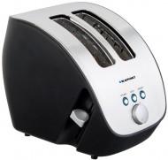 Prajitor de paine Blaupunkt TSS701, 1000 W, 2 felii, grad de rumenire ajustabil, functie de dezghetare, Argintiu/Negru