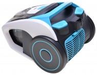 Aspirator fara sac Blaupunkt VCC301, 1.2 l, 700 W, clasa energetica A, tub telescopic metalic, Albastru / Gri