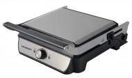 Grill electric Blaupunkt GRS701, 2000 W, placi detasabile antiaderente, balama ajustabila, otel inoxidabil