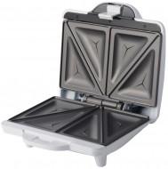 Sandwich-maker Blaupunkt SMP301, 700 W, prepara 4 sandwich-uri triunghiulare(2 felii), Alb