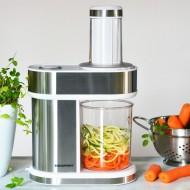 Feliator de legume/fructe Blaupunkt FPS601, 100W, 4 conuri, capacitate 1.2L, taiere gros/subtire, argintiu