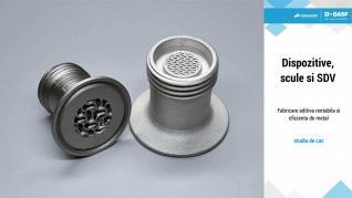 BASF Forward AM - UltraFuse Metal 316L: Dispozitive, scule si SDV
