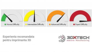 Experienta recomandata pentru imprimanta 3D