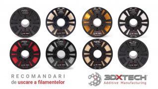 Recomandari de uscare a filamentelor