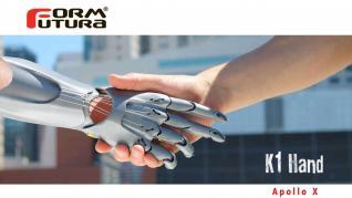 K1- mână protetică realizata cu ApolloX