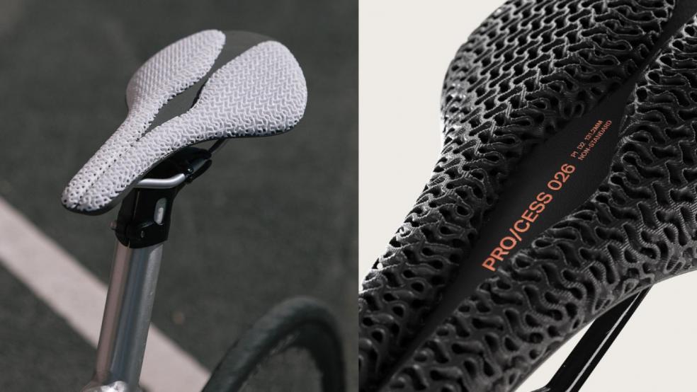 PRO/CESS, o șa pentru bicicletă, printată 3D, personalizabilă, cu Filaflex