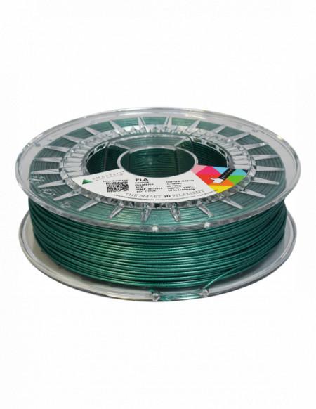 Filament SmartFil PLA Glitter Green (verde) 750g